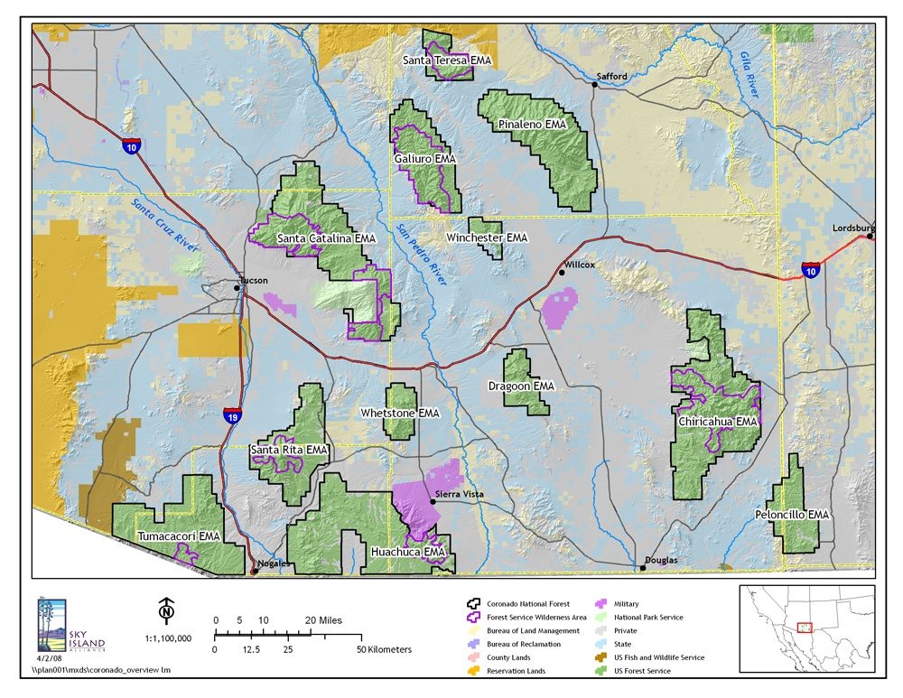 New Coronado National Forest Management Plan in the Works