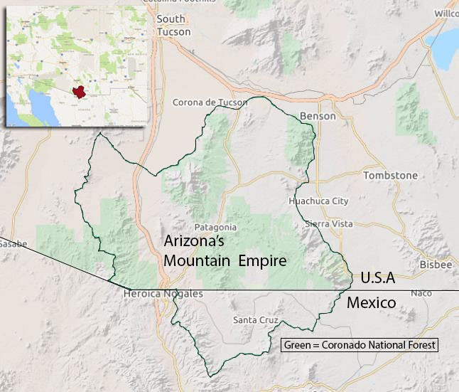 Southern Arizona\'s Mountain Empire: Sanctuary for Rare and Unusual ...